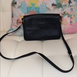 Tory Burch black crossbody purse